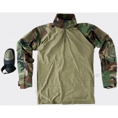 Combat Shirt US Woodland