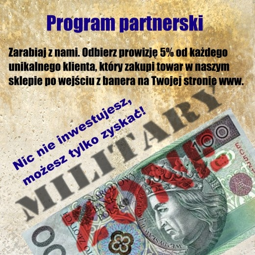 Sklep Militaria - Program Partnerski