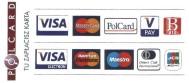 Akceptujemy platności kartami płatniczymi