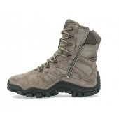 Buty BATES 2367 Delta-8 Gore-tex, olive-grey, side zip