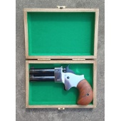"Derringer .45 2,5"" Great Gun chrom black Pistolet czarnoprochowy"