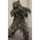 Ghillie Suit Woodland Mil-Tec