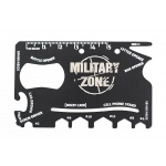 Karta multitool MILITARY ZONE - Twoje Multinarzędzie do portfela