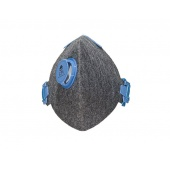 Maska antysmogowa City Mask grey/blue