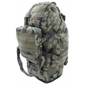 Plecak Overload Backpack CAMO Military Gear 60L WZ93 Pantera PL woodland