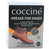 Tłuszcz do obuwia Coccine Grease For Shoes czarny